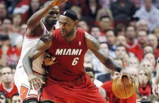 While you were sleeping: LeBron on song as Miami draw level