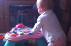 'Baby being surprised by a sneeze' is the best 10 seconds you'll see today