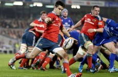 Murray highlights Munster's need for strong kick chase against Toulouse footwork