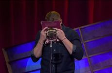 Damien Dempsey sings funny words to Dirty Old Town on Australian TV