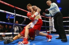 Unstoppable Frampton strides towards title shot with second-round KO