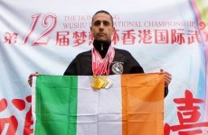 The Irish martial artist who's just won four gold medals at the Wushu Championships in China