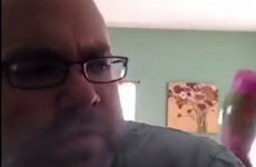 Tired dad captures every parent's agony in weekend video diary