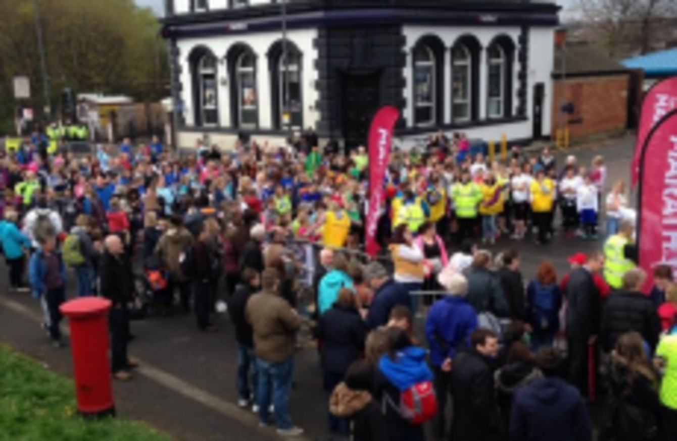 Farcical scenes in sheffield as half marathon is cancelled for Farcical scenes