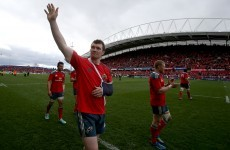 Shoulder surgery rules O'Mahony out for rest of season