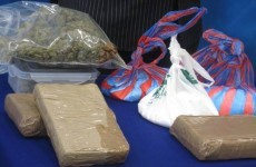 This is what €1 million worth of drugs looks like