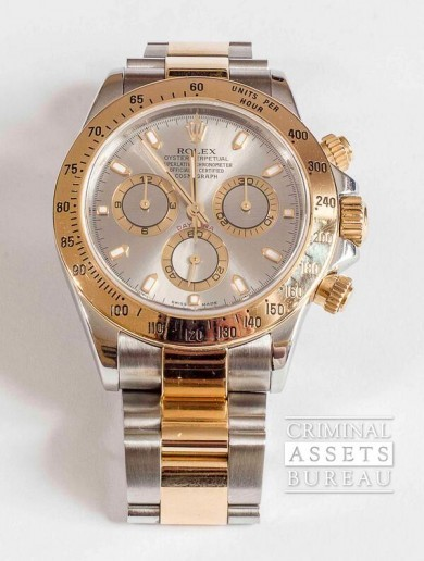 Criminal Assets Bureau to sell this Rolex watch on eBay