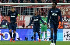 VINE: Evra gives United stunning lead before Bayern produce three clinical goals