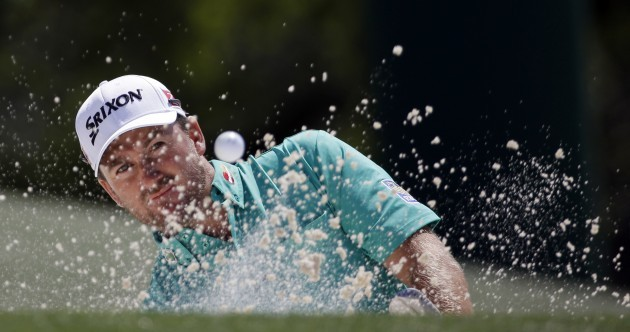 Solid start for McIlroy as double bogey keeps Scott off top spot at The Masters
