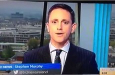 Did you spot the shaky camera fail on TV3 this morning?