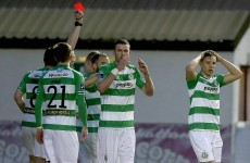 St Pat's benefit from controversial penalty to edge Shamrock Rovers