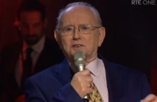Jimmy Magee has recorded a single and sang it live on television last night