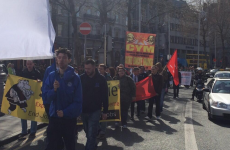Marchers in Dublin City today want JobBridge to be scrapped