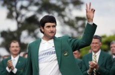 'This one was a lot better' - more tears as Bubba dons green jacket for the second time