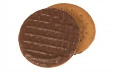 The Burning Question*: Is the chocolate on the top or bottom of these biscuits?