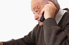 A helpline is the only contact some elderly people have with others