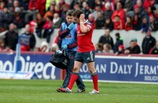 Munster's JJ Hanrahan ruled out of Connacht clash with groin tear