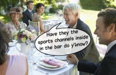 15 people you'll always meet at an Irish wedding