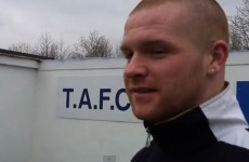 The 'Irish Wayne Rooney' Terry Dixon back enjoying his football again