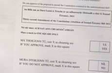 Simplify ballot papers? It could cause legal problems, say Environment officials