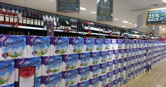Dunnes in Blanchardstown has a novel way of stopping people buying booze