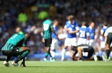 Real Betis player asks to be substituted after first-half horror show