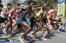 Runners reclaim Boston Marathon one year after attacks