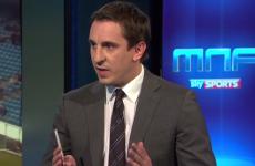 Neville 'fears for' David Moyes future, Carragher draws Hodgson comparison