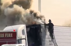 This fireman is having the worst day EVER