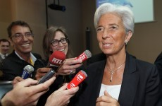 Lagarde confirms her bid for IMF's top job