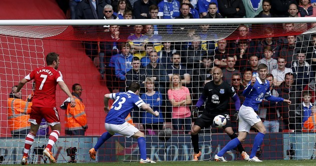 Own-goal double derails Everton's Champions League bid