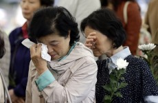 """I am sorry to the people"": President apologises over ferry disaster"