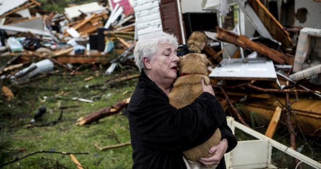 Pics: Neighbourhoods left in ruins after tornadoes rip through the United States