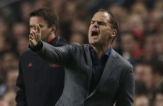 'I'll think about it' - Spurs make approach for Frank de Boer