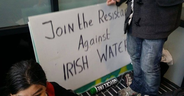 Protesters occupy Irish Water HQ, call for public to 'join the resistance'