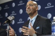 After his parents eloped to Ireland, Penn State coach James Franklin can't wait to come back
