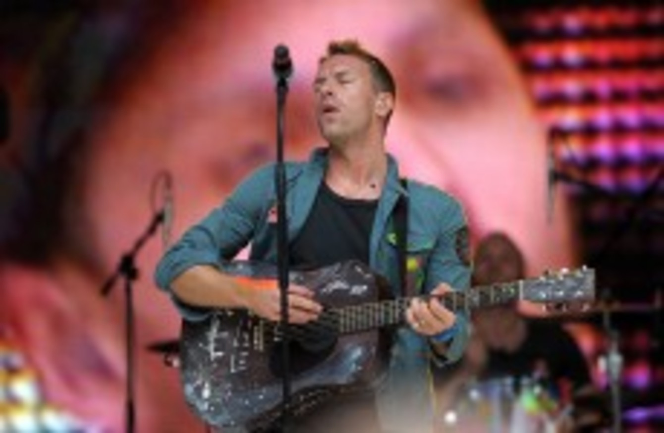 Irish Coldplay fan finds handwritten Chris Martin lyrics in Dublin library