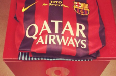 Barcelona to wear Tito Vilanova tribute on their jerseys against Getafe tonight