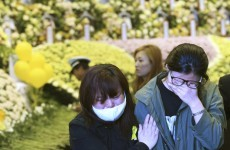 Divers struggle to open blocked cabins on sunken South Korea ferry