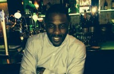 Idris Elba did a DJ set at a Dublin club last night