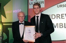 Jack McGrath and Andrew Trimble win Leinster and Ulster player awards
