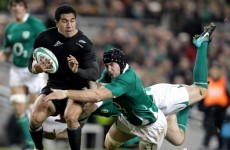 Connacht confirm capture of New Zealand full-back Mils Muliaina