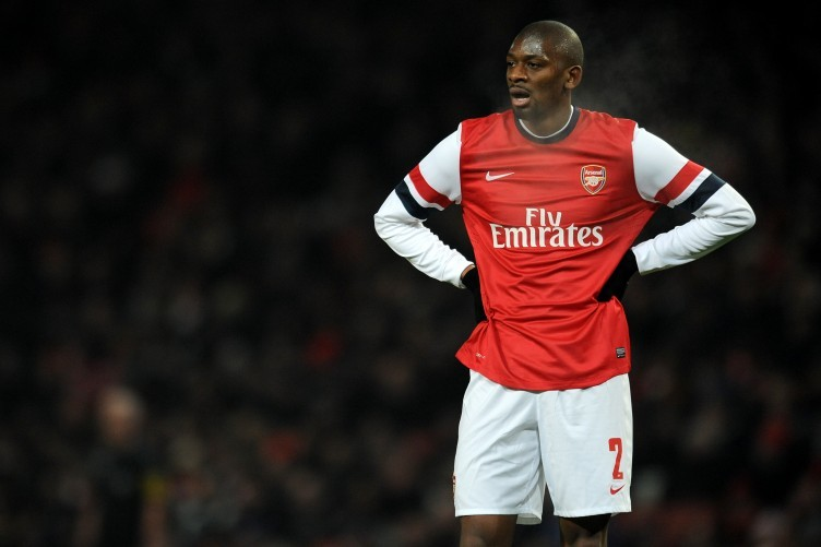Diaby has had a torrid time with injuries.