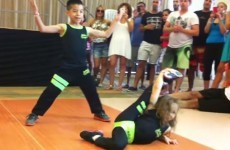 You HAVE to see how incredibly these little kids can salsa dance