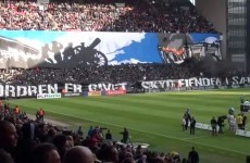 Move over Dortmund, Copenhagen are the new tifo kings