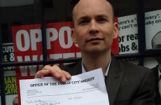 This MEP got a visit from the sheriff over unpaid Property Tax