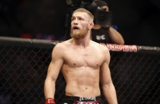 'As soon as he steps off the plane, he's stepping onto a battlefield' – McGregor