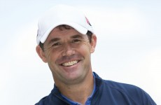 Pádraig Harrington: 'I'm not going into TV commentary just yet'