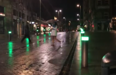 This street-wide pedestrian crossing is simply genius
