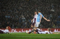 The Etihad erupts as quick-fire Dzeko double puts Man City in control